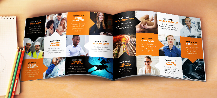 Sixth Form prospectus design
