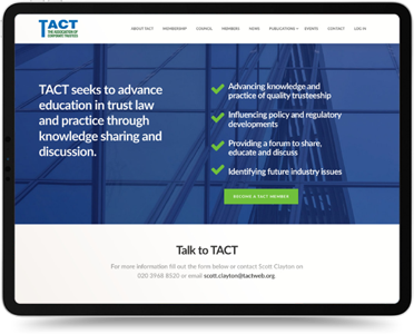 TACT Website Design