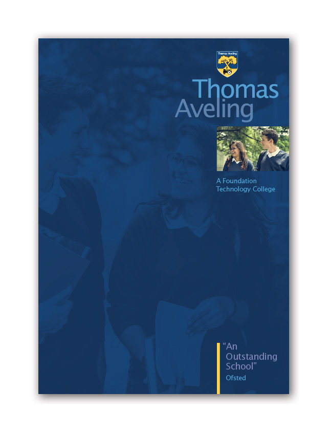 Thomas Aveling School Prospectus Design