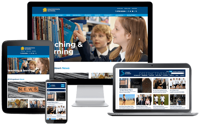 School Website Design Strood Academy