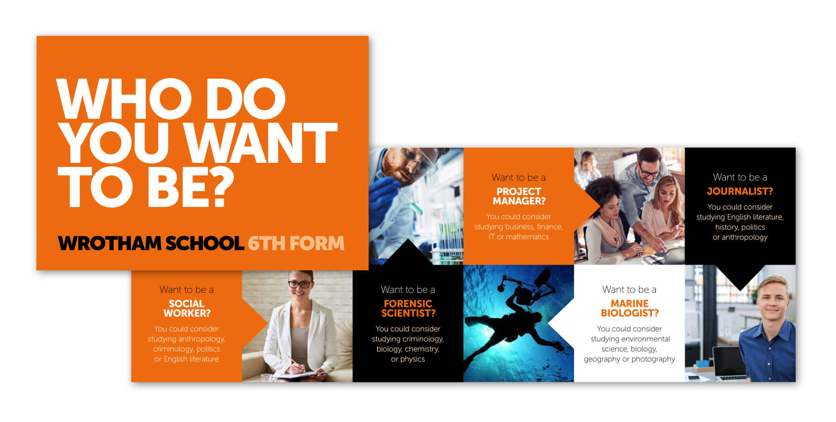 Wrotham School Prospectus Design