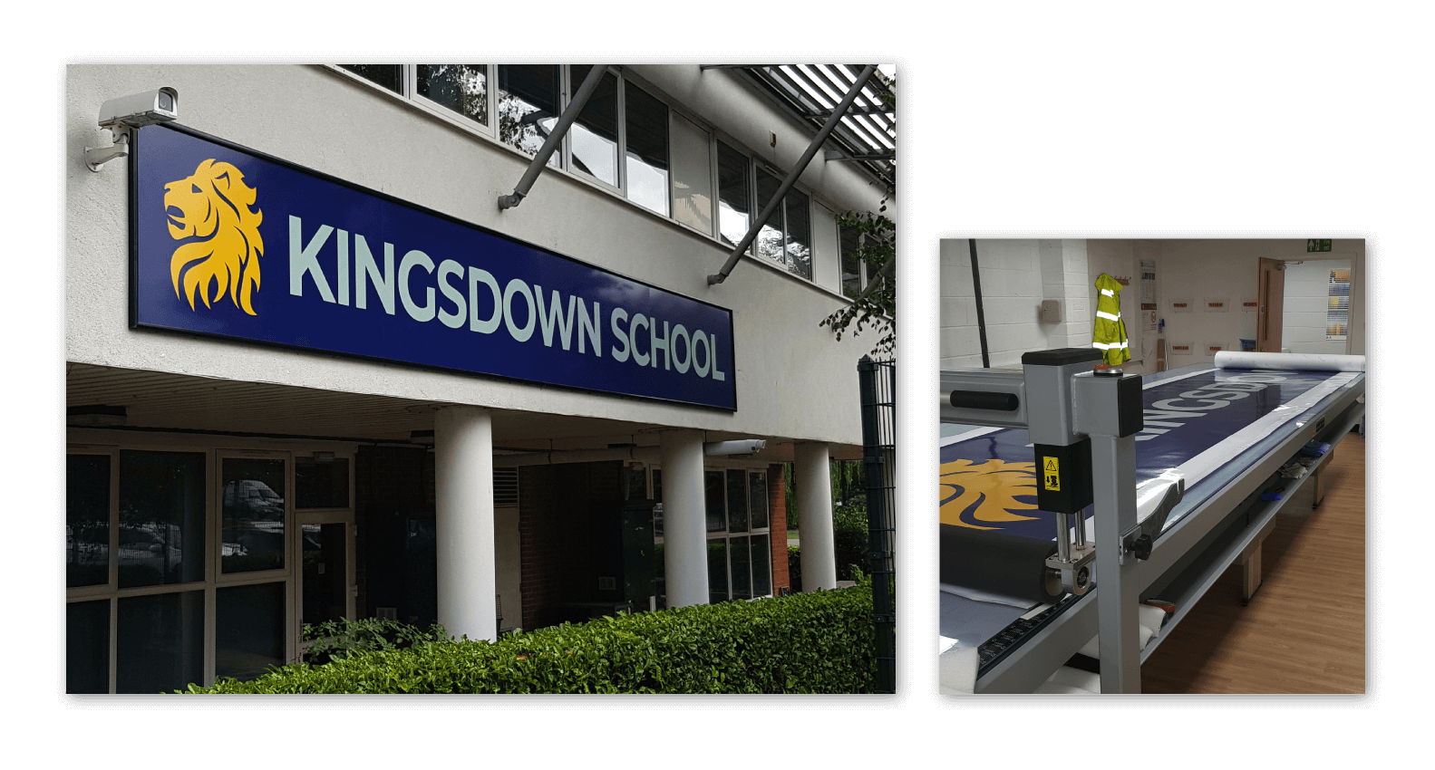 Kingsdown School Signage Design