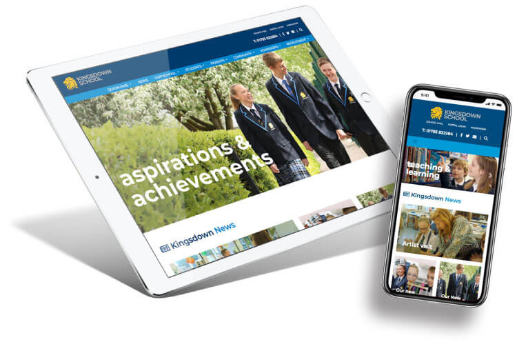 Kingsdown School Website Design