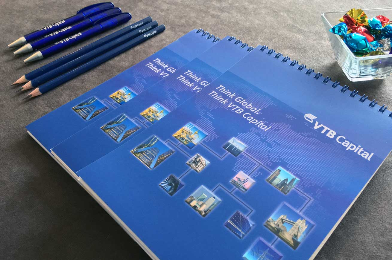 VTB Capital Pens and Note Pads